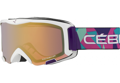 очки cebe super bionic pink rainbow light rose flash gold